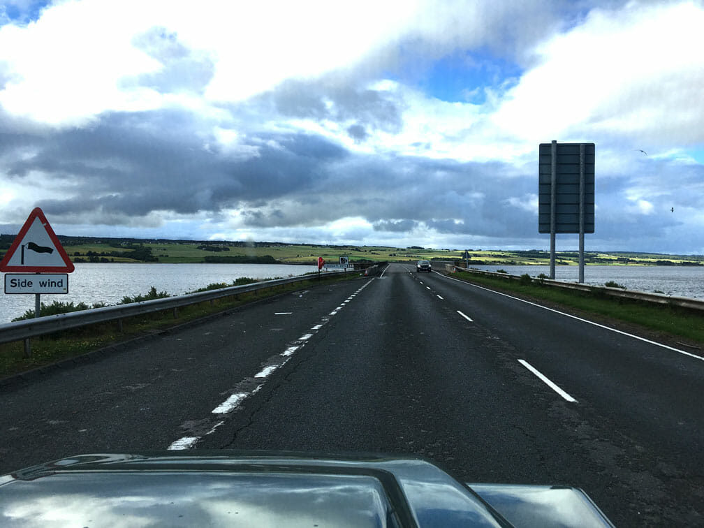 über den Cromarty Firth