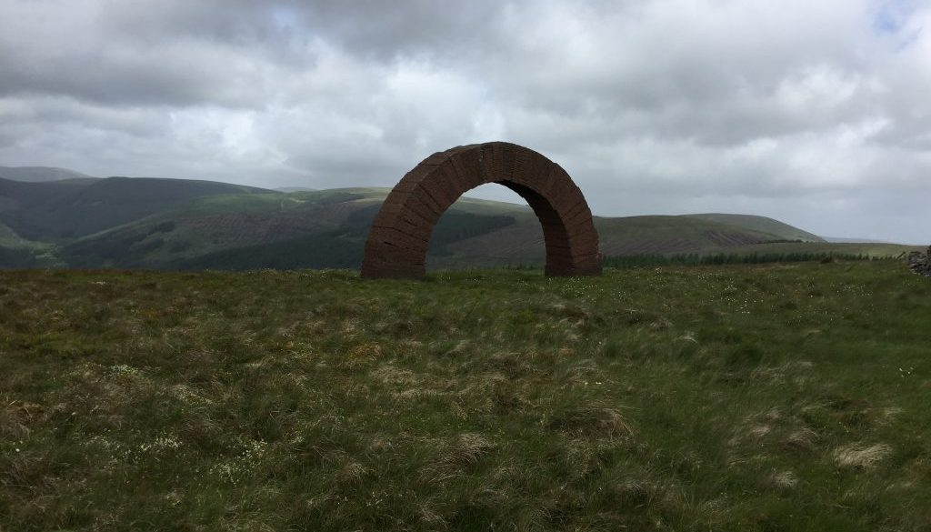 Bail Hill Striding Arch