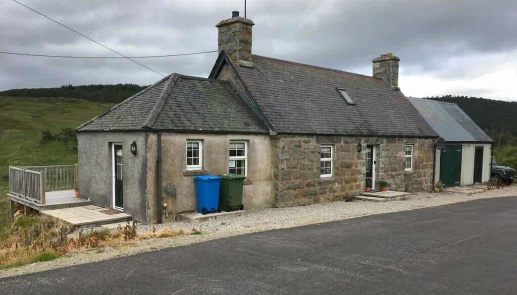 Cottage bei Rogart