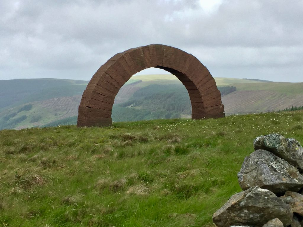 Bail Hill Striding Arch