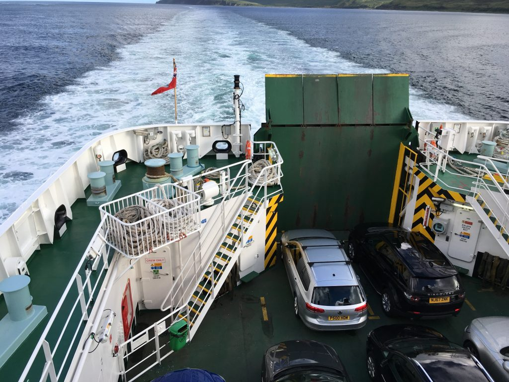Unterwegs nach Islay