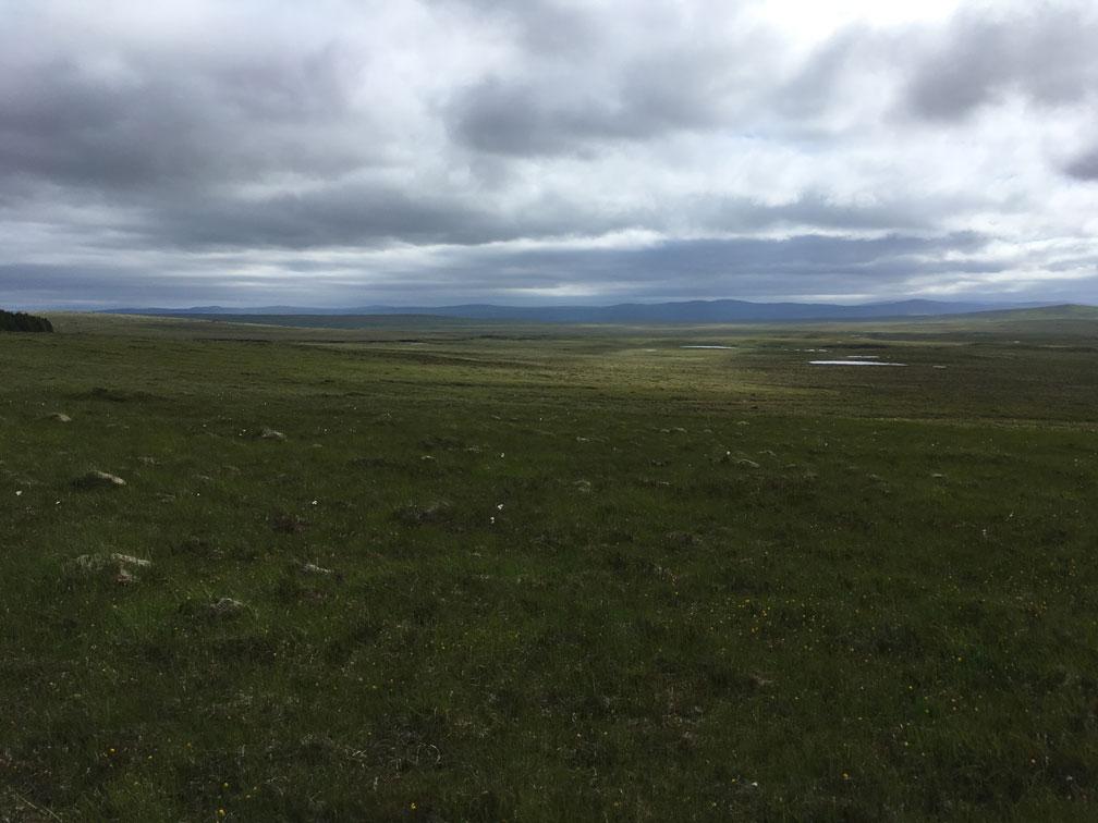 Loch Hope und Umgebung